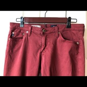 Ag Adriano Goldschmied Pants - Adriano Goldschmied the Stilt Cigarette Leg Jeans